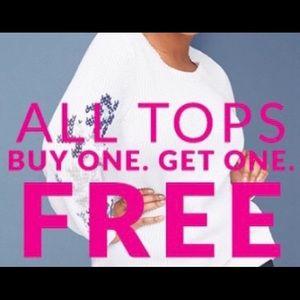 Tops - ‼️!! BOGO Sale on Tops!!‼️ still going on